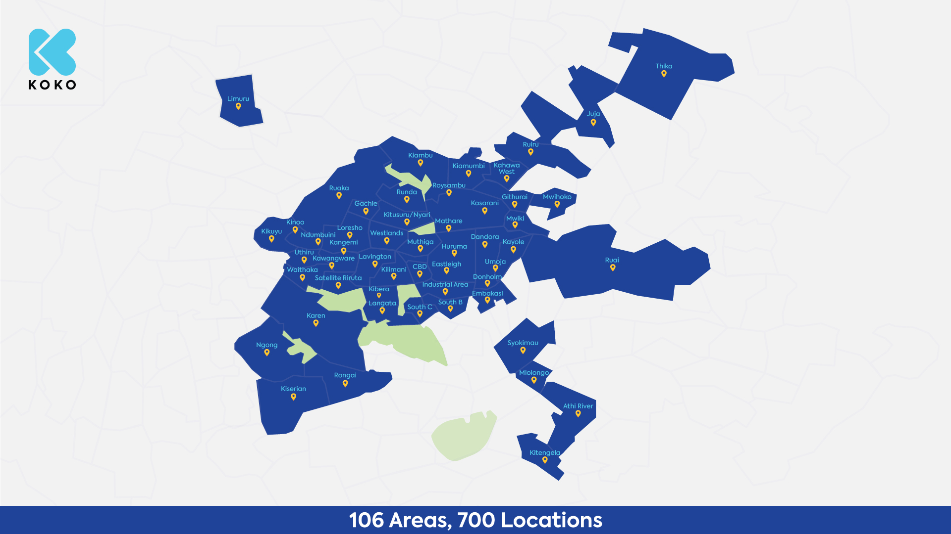 KOKOpoints Map